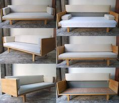 Wooden Couch, Wood Sofa, Furniture Makeover, Furniture Decor, Furniture Design, Wooden Sofa Designs, Diy Couch, Aesthetic Room Decor, Living Room Sofa