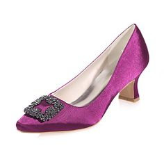 Women's+Wedding+Shoes+Square+Toe+Heels+Wedding+/+Party+&+Evening+Black+/+Blue+/+Purple+/+Red+/+Ivory+/+White+/+Champagne+–+USD+$+34.99