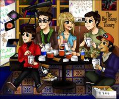 The Big Bang Theory by sasukee23loveeer