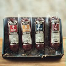 Hunters Delight Open Season Gift Box - Taste Of The Wild Summer Sausage - Jerky & Dried Meat Snacks - Summer Sausage, Open Season, Good Sources Of Protein, Venison, Unique Recipes, Hostess Gifts, Gourmet Recipes, Food And Drink, Favorite Recipes