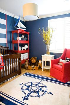 Feature wall nursery