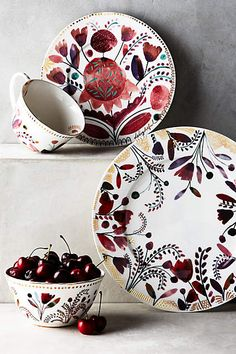 Harvest Foliage Mug - anthropologie.com