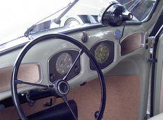 1949 VW Bug dashboard