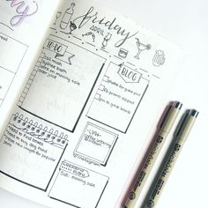 Are you curious about the differences between weekly logs and daily logs? This post explains the benefit of each and how to use them in your bullet journal. Bullet Journal Daily Spread, Bullet Journal Notebook, Bullet Journal Layout, My Journal, Bullet Journal Inspiration, Journal Pages, Journal Topics, Journals, Bullet Journal Decoration