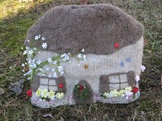 Cottage tea cozy by thepicklednickel, via Flickr