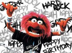 verjaardagskaart man - animal-rockt-op-je-verjaardag