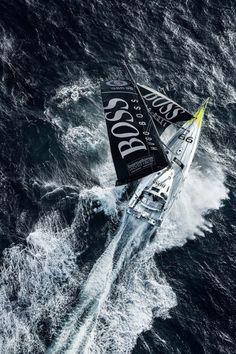 Hugo Boss, by Mark Lloyd. Alex Thomson and Pepe Ribes  | Barcelona World Race