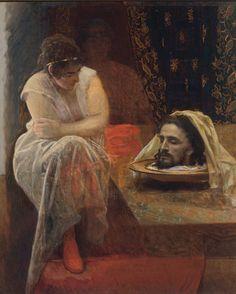 I.N.Kramskoi - Herodias - Salome's mother