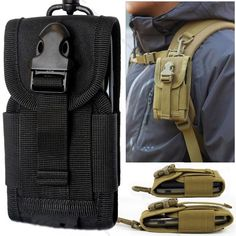 Outdoor Camping Hanging Bag Money Pocket Tactical Molle Cell Phone Bag Hunting Pack Portable Waist Bag Hiking Pouch with buckle Best Hiking Gear, Best Camping Gear, Backpacking Gear, Camping Gifts, Backpack Camping, Camping Gadgets, Camping Ideas, Camping Places, Family Camping