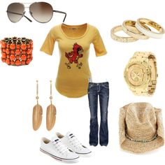 Iowa State Fan Outfit, created by nomimae on Polyvore