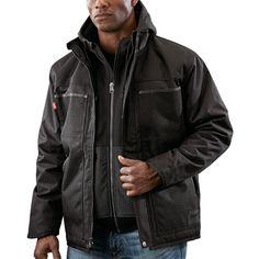 8928e2fd4 M12™ Heated 3in1 Ripstop Jacket - Black (Jacket Only) | Milwaukee Tool Rain