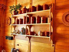 Полки для кухни - 58 фото вариантов замены шкафов и антресолей