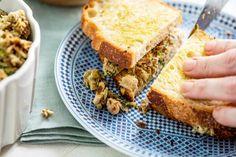 Italian Tuna Salad — The Mom 100 Tuna Fish Sandwich, Tuna Fish Salad, Italian Tuna, New Recipes, Favorite Recipes, Tuna Melts, Small Restaurants, Spinach Leaves, A Food