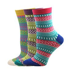 Pomlia Women's 3 Pair Pack Soft Comfortable Cotton Crew Socks Collection P07 Pomlia http://www.amazon.com/dp/B019BX9GVA/ref=cm_sw_r_pi_dp_jfr7wb0GYYRMF