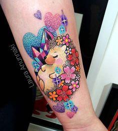 1f80f2594 Glittery and super kawaii chubby #hedgehog 😭💙 I really love design and  tattoo animals