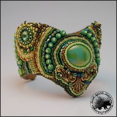 Willow Cuff by GoodQuillHunting on Etsy