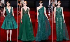 Ellie Saab - Green dress