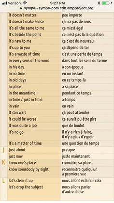 Learn French With Alexa Watches Learn French Videos Animals Referral: 1406655483 French Verbs, French Grammar, French Phrases, French Quotes, French Sayings, French Language Lessons, French Language Learning, Learn A New Language, French Lessons