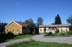 Kruununvoudintalo in Kokkola - Hakalahti. Central Ostrobothnia province of Western Finland - Keski-Pohjanmaa