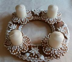 Sugar Art, Biscotti, Gingerbread, Napkins, Cookies, Decoration, Christmas, Home Decor, Biscuits