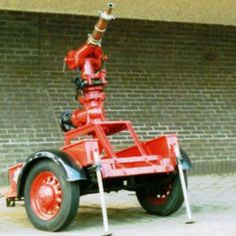 Fire Engine Appliances -Scottish Fire and Rescue Heritage Trust Appliance – 1940 Trailer Mounted Deluge Set Museum & Heritage Centre Greenock