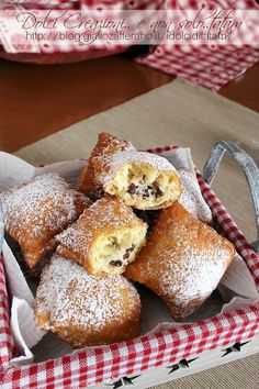 Beignets, Best Apple Pie, Ravioli, Biscotti, Doughnut, Italian Recipes, Nutella, Fries, French Toast