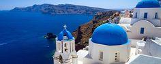 9 night cruise via Royal Caribbean: Rome-Sicily-Mykonos-Ephesus-Santorini-Athens-Naples Santorini Island, Santorini Greece, Santorini Honeymoon, Santorini Travel, Greece Time, Royal Caribbean International, Greek Isles, Honeymoon Packages, Honeymoon Destinations