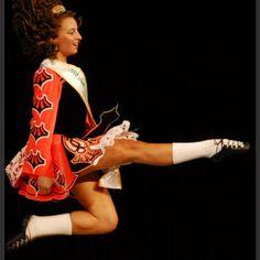 Irish dance, Love the pointed toe! #irishdancing #irishdancingcostume #irishculture