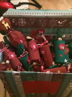 Diy Advent Calendar, Gift Wrapping, Gifts, Gift Wrapping Paper, Presents, Wrapping Gifts, Favors, Gift Packaging, Gift