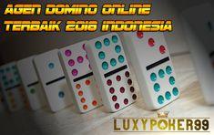 Agen domino online terbaik 2018 di indonesia adalah luxypoker99 , dengan adanya luxy ini anda dapat bermain judi domino online dengan aman dan terpercaya.