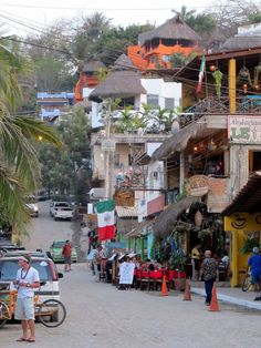 Streets of Sayulita, Mexico. Left a piece of my heart there.