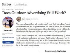 publicitatea outdoor nu mai functioneaza
