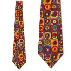 Mens Ties Poppy Flowers Watercolor Painting Neck Tie Designer Neckwear For Man