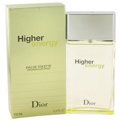 Higher Energy by the design house of Christian Dior was introduced in 2003 as a sweet and spicy scent. A masculine blend of refreshing rosemarycypress and musk.