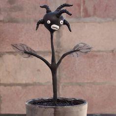 Ooak hand made blackface minstrel flower by chrisandrescreations
