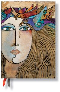18-Month Midi Dayplanners by Paperblanks: 2012 Soul & Tears