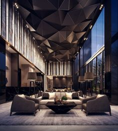 """20.2 mil Me gusta, 91 comentarios - ARCHITECTURE HUNTER (@architecture_hunter) en Instagram: """"#architecture_hunter Cachet Deluxe Hotel, in Bangkok, Thailand 3D visualization: paperCG…"""""""