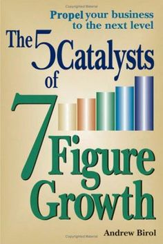 5 Catalysts of 7 Figure Growth by Andy Birol available at Diwan Maadi and Heliopolis for 12.5 L.E instead of 50 L.E :)