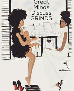 Art print / Poster Black girl x Balcony - Nicholle Kobi Black Girl Art, Black Women Art, Black Girls Rock, Black Girl Magic, Art Women, African American Art, African Art, Tribal African, African Prints