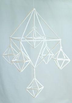 Paperihimmeli valkoinen, tarvikepaketti paperilanka