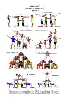 Αποτέλεσμα εικόνας για figuras acrosport 7 personas