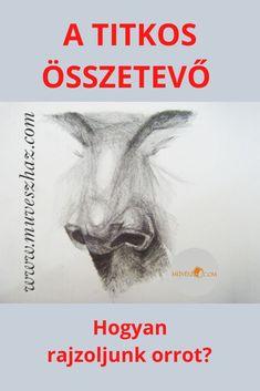 Hogyan rajzoljunk?-Titkos összetevő a portré rajzolásban, hogy tudjuk, hogyan rajzoljunk orrot. Figyelj>> Movies, Movie Posters, Art, Art Background, Films, Film Poster, Kunst, Cinema, Movie