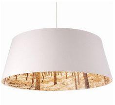 Graphic Lamp Shade Interior