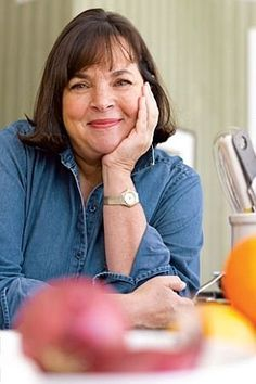 Ina Garten, Barefoot Contessa love her cook books and show. AWESOME