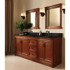 Beautiful Foremost Naples 24 In. X 32 In. Wall Mirror In Warm Cinnamon