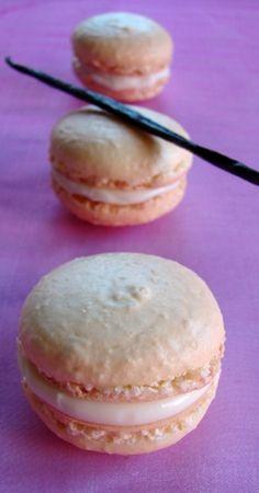 Fehér csokoládés macaron