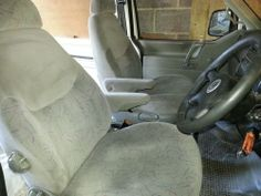VW TRANSPORTER T4 FRONT SEATS,WITH SWIVELS & ARMRESTS !