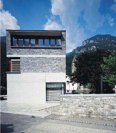 Raffaele Cavadini New Municipal Infrastructures Iragna, Ticino Canton, Switzerland « Journal