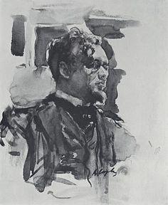 Valentin Serov (1865 - 1911). 2004 Dom Naschokina Art Gallery
