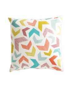 Chevrons Cushion - No Insert | dotandbo.com